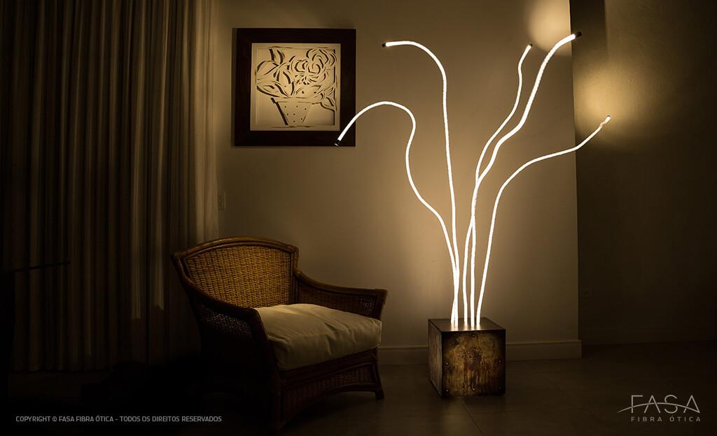 foto de ambiente com a luminária Medusa