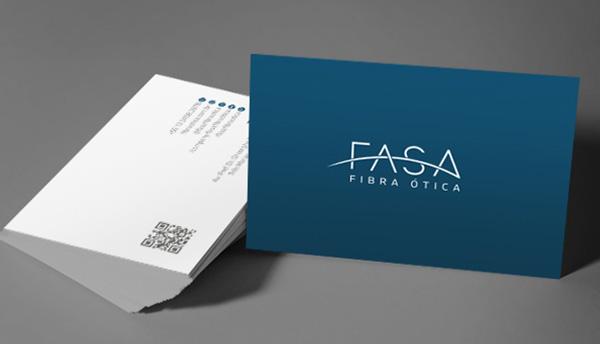 imagem de cartão de visita FASA